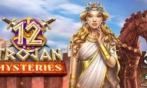 12 Trojan Mysteries Slot สล็อตทำเงินรางวัลเด็ดๆ พ่วงกับธีมขุนศึกสุดแสนเร้าใจ