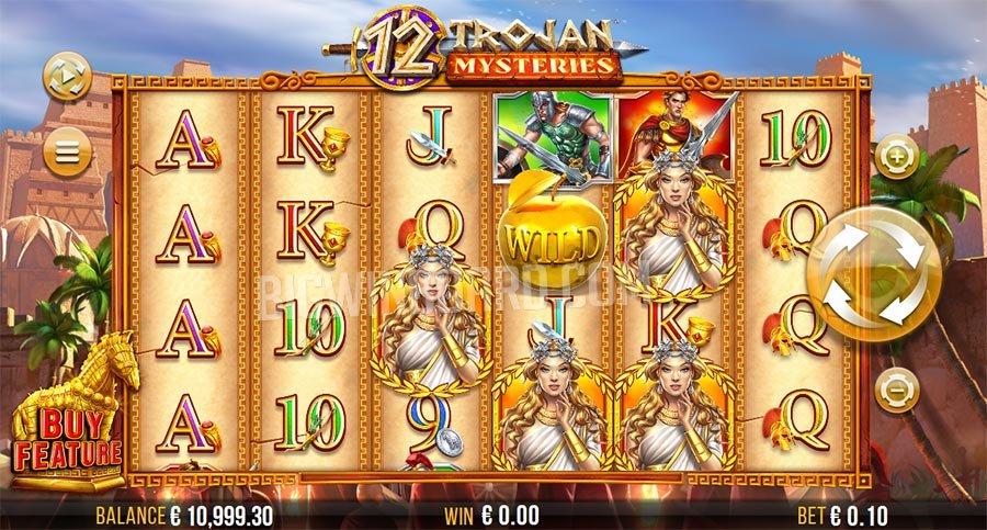 12 Trojan Mysteries Slot - ธีมขุนศึกในสมัยโบราณ